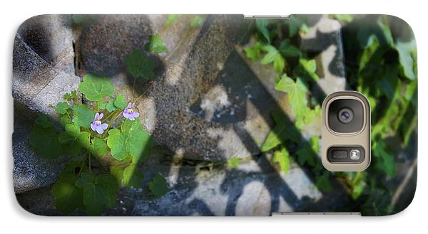 Galaxy Case featuring the photograph Shadow Garden by Richard Piper