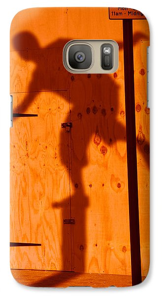 Galaxy Case featuring the photograph Shadow Play  by Richard Piper