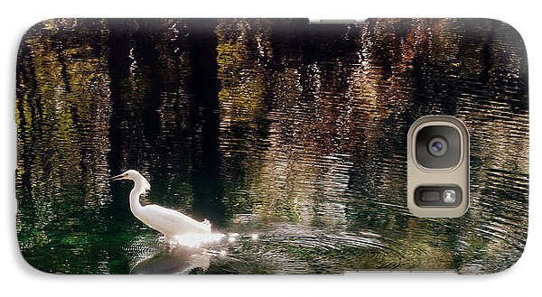 Galaxy Case featuring the photograph Shadowwaters by Lydia Holly