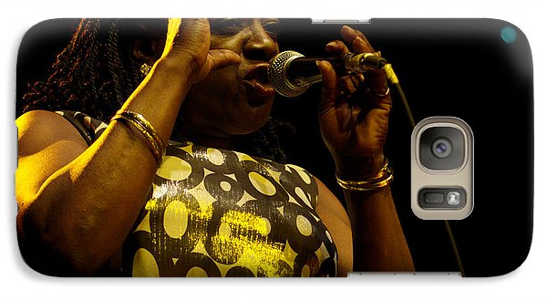 Galaxy Case featuring the photograph Sharon Jones by Jeff Ross