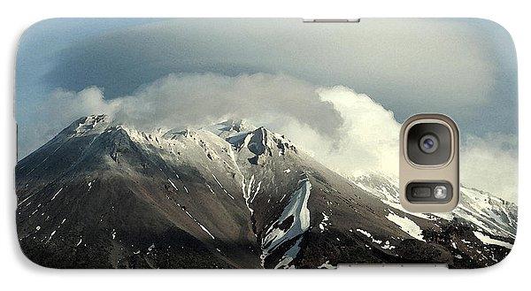 Galaxy Case featuring the digital art Shasta Lenticular 2 by Holly Ethan