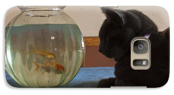 Galaxy Case featuring the photograph Shastacat by Darleen Stry