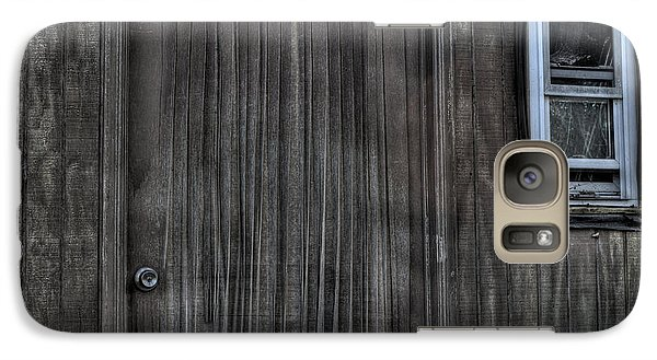 Galaxy Case featuring the photograph Shed by Zawhaus Photography