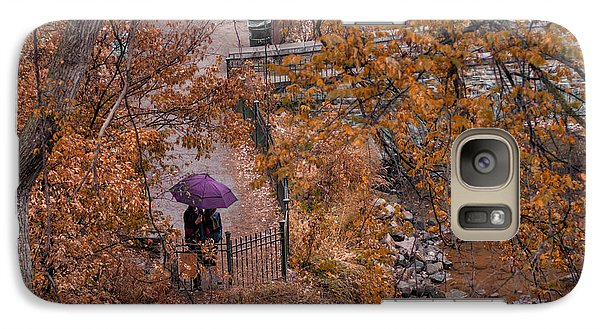 Galaxy Case featuring the photograph Alone Together by Tom Gort