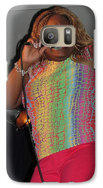 Galaxy Case featuring the photograph Shemekia Copeland by Mike Martin