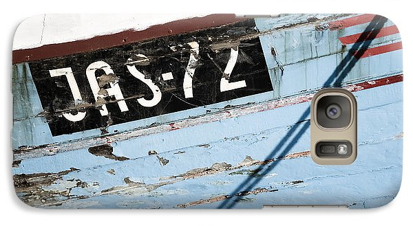 Galaxy Case featuring the photograph Ships' Number by Agnieszka Kubica