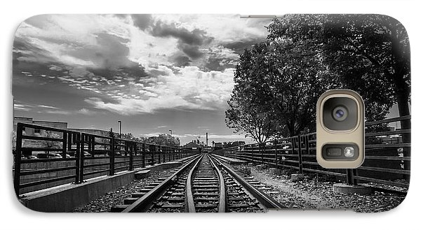Galaxy Case featuring the photograph Silent Spur by Tom Gort