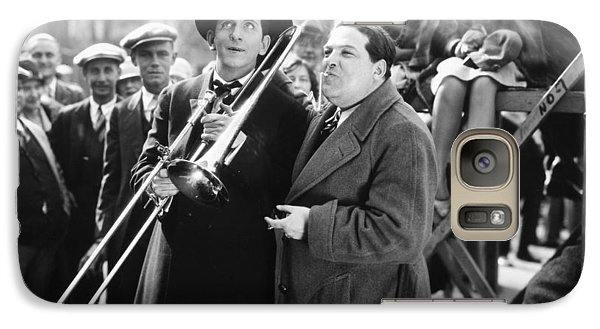 Trombone Galaxy S7 Case - Silent Still: Musicians by Granger