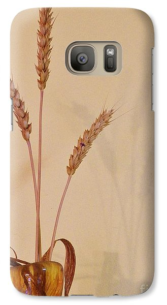 Galaxy Case featuring the photograph Simplicity And Sustenance by Judy Via-Wolff
