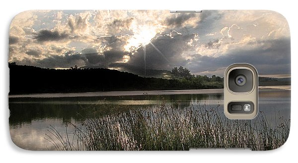 Galaxy Case featuring the photograph Sit Back...relax by Cindy Haggerty