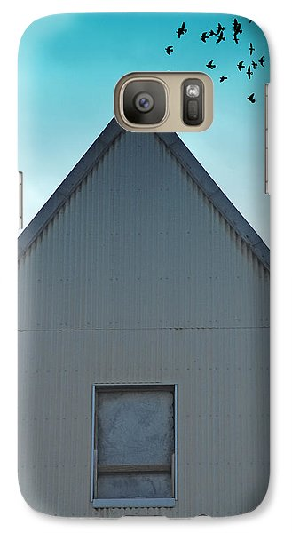 Galaxy Case featuring the photograph Sitting On The Peak by Kathleen Grace