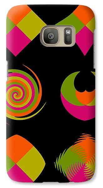 Galaxy Case featuring the photograph Six Squared Collage by Steve Purnell