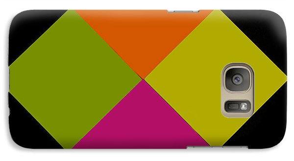 Galaxy Case featuring the photograph Six Squared by Steve Purnell