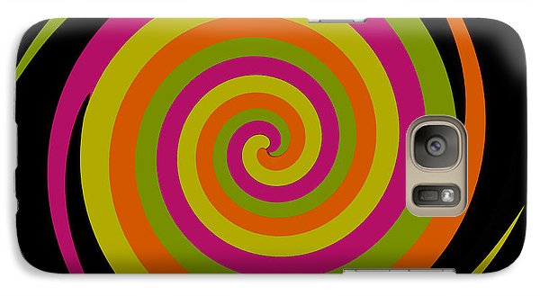 Galaxy Case featuring the photograph Six Squared With A Twirl by Steve Purnell