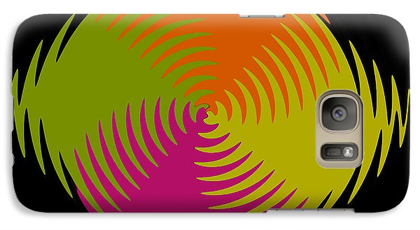 Galaxy Case featuring the photograph Six Squared Zigzag by Steve Purnell