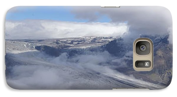 Galaxy Case featuring the photograph Skaftafell Panorama by Rudi Prott