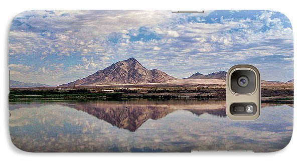 Galaxy Case featuring the photograph Skies Illusion by Tammy Espino