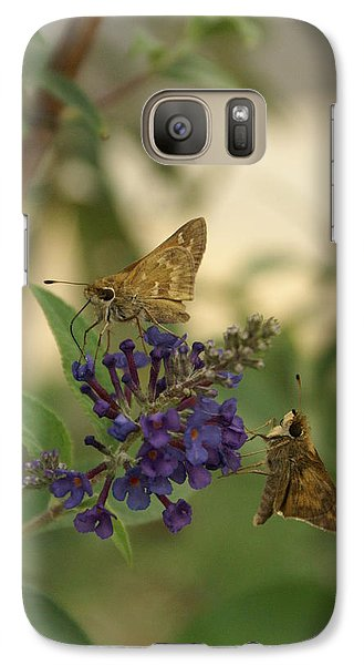 Galaxy Case featuring the photograph Skipper by Heidi Poulin