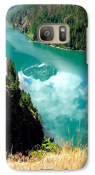 Galaxy Case featuring the photograph Sky Reflection In Ross Lake by Tanya  Searcy