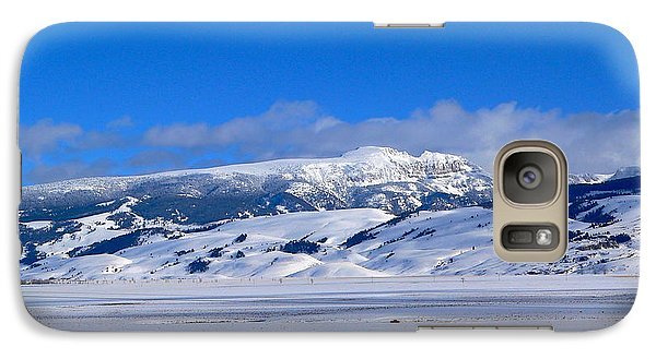 Galaxy Case featuring the photograph Sleeping Indian by Eric Tressler