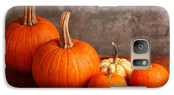 Galaxy Case featuring the photograph Small Decorative Pumpkins by Verena Matthew