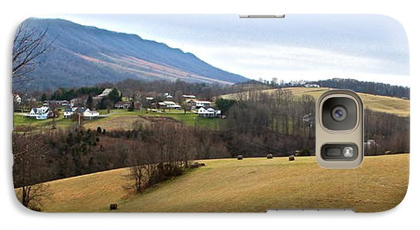 Galaxy Case featuring the photograph Small Town by Kume Bryant