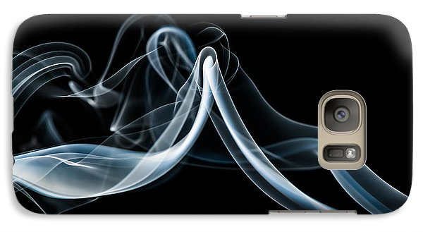 Galaxy Case featuring the photograph Smoke-1 by Larry Carr