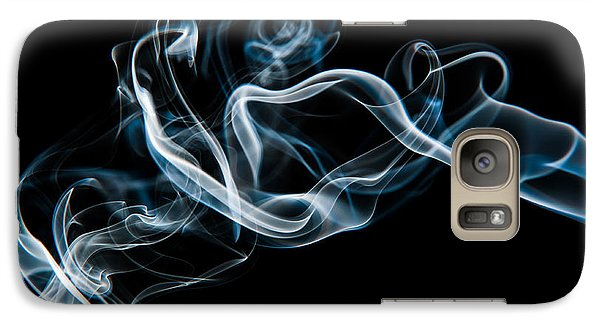 Galaxy Case featuring the photograph Smoke-2 by Larry Carr
