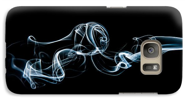 Galaxy Case featuring the photograph Smoke-3 by Larry Carr
