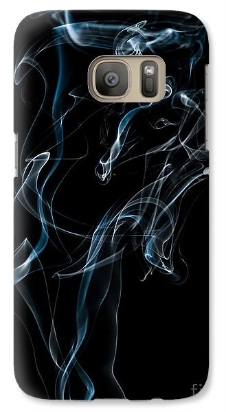 Galaxy Case featuring the photograph Smoke-6 by Larry Carr
