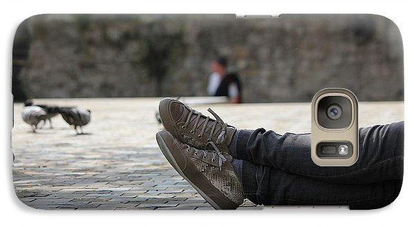 Galaxy Case featuring the photograph Sneakers by Rdr Creative