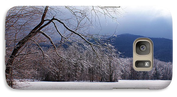 Galaxy Case featuring the photograph Snow And Ice by Paul Mashburn