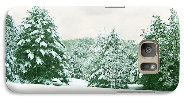 Galaxy Case featuring the photograph Snow Covered Countryside by Michael Waters
