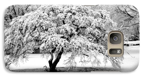 Galaxy Case featuring the photograph Snow In Connecticut by John Scates