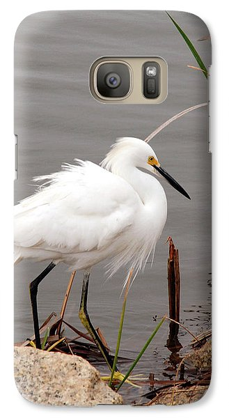 Galaxy Case featuring the photograph Snowy Egret by Kay Lovingood
