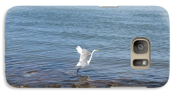Galaxy Case featuring the photograph Snowy Egret by Marilyn Wilson