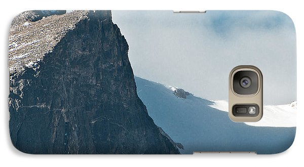 Galaxy Case featuring the photograph Snowy Flatirons by Colleen Coccia