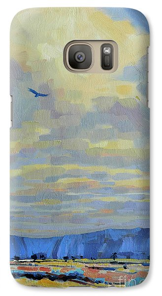 Galaxy Case featuring the painting Soaring by Donald Maier