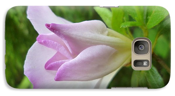 Galaxy Case featuring the photograph Soft Pink Azalea by Renee Trenholm