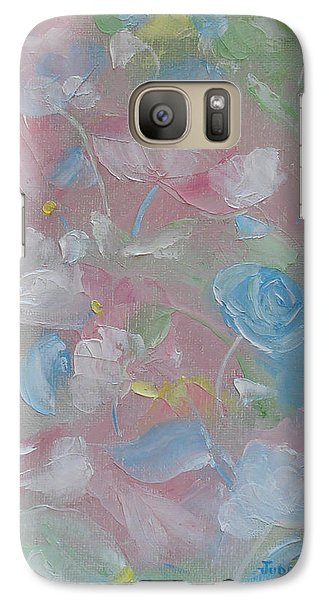 Galaxy Case featuring the painting Softly Spoken by Judith Rhue