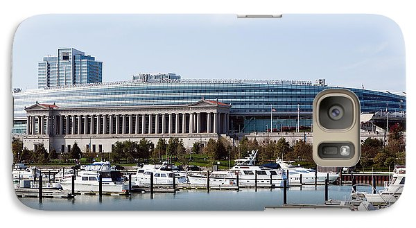 Soldier Field Chicago Galaxy Case by Paul Velgos