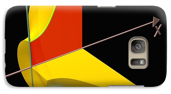 Galaxy Case featuring the digital art Solid Of Revolution 1 by Russell Kightley