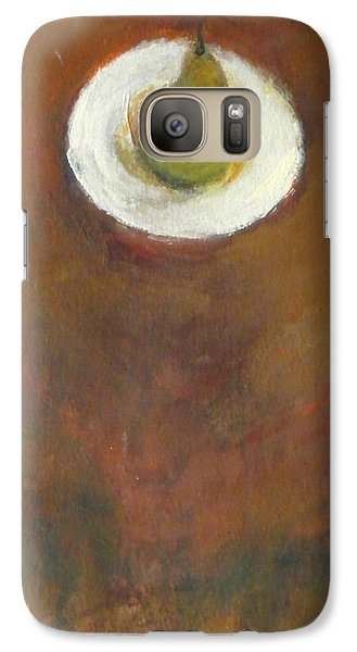 Galaxy Case featuring the painting Solo by Kathleen Grace