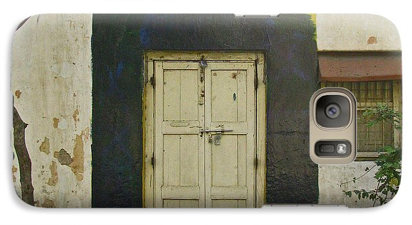 Galaxy Case featuring the photograph Somebody's Door by David Pantuso