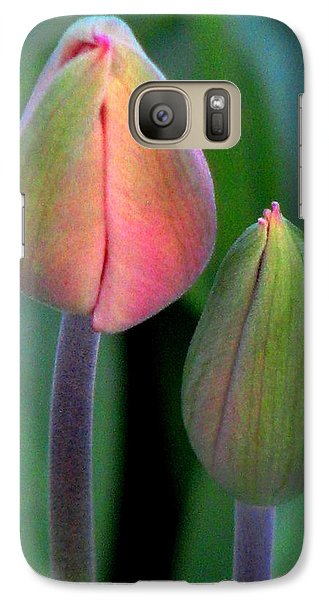 Galaxy Case featuring the photograph Something Inside by Angela Davies