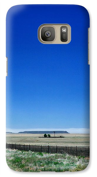 Galaxy Case featuring the photograph Somewhere On Hwy 285 Number One by Lon Casler Bixby