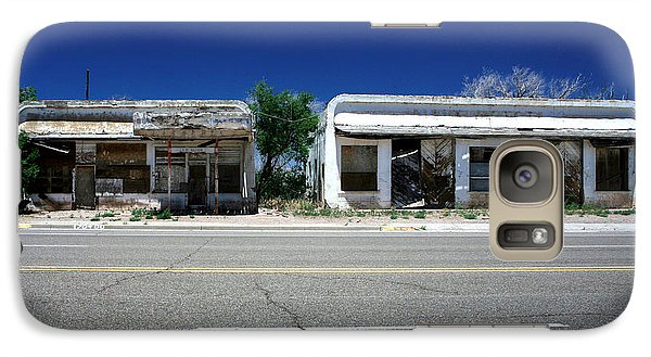 Galaxy Case featuring the photograph Somewhere On Hwy 285 Number Two by Lon Casler Bixby