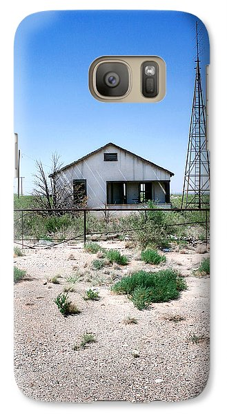 Galaxy Case featuring the photograph Somewhere On The Old Pecos Highway Number 5 by Lon Casler Bixby