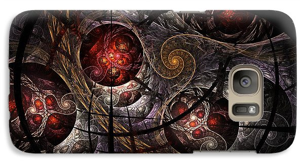Galaxy Case featuring the digital art Soul Of Osiris by NirvanaBlues