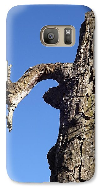 Galaxy Case featuring the photograph Soul Of The Wood Pecker by Gerald Strine
